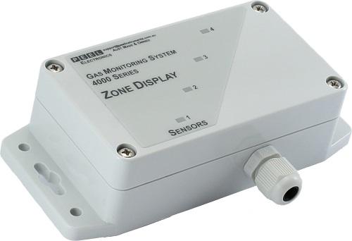 4000-ZD Zone Display Mimic Cellar Detector