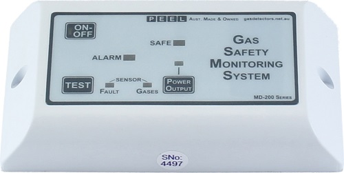 MD-200 LEL Combustible Gas Detector Sensor